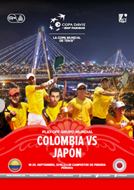 Revista Copa Davis - Colombia vs Japón 2015